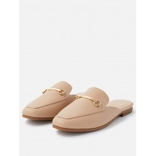 Women Flat Shoes - Accessorize Backless loafer NTTL711