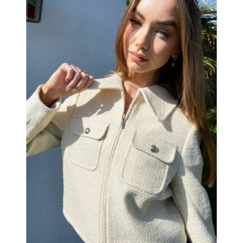& Other Stories co-ord set in cream Women Jackets good quality YWUQ217