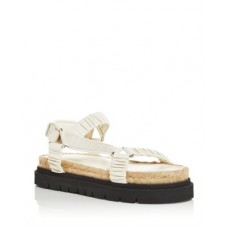 3.1 Phillip Lim Young Women's Women's Noa Strappy Espadrille Platform Sandals Creme Brulee The Top Selling GUBK334