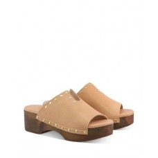Ancient Greek Sandals Young Women's Women's Sagini Studded Clogs Natural stores GMLJ838