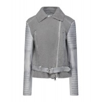 Women Leather Jackets 2021 Trends good quality - Biker jackets Soft Leather, Shearling PTX031681