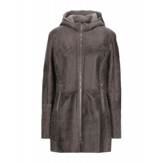 Women Leather Jackets Clearance Sale Fitted - Coats Soft Leather, Shearling XNNZZ4189