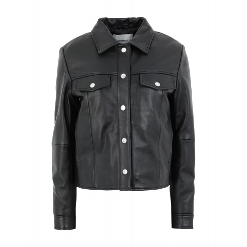 Women Leather Jackets Clearance Sale Latest Fashion - Leather jackets 100% Lambskin, Recycled leather IC4VG5732