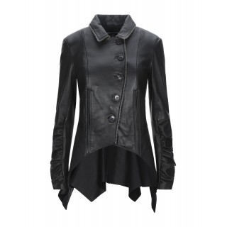Women Leather Jackets Cut Off Trending - Leather jackets 100% Soft Leather 7SWOS8453