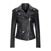 Women Leather Jackets In Sale New Arrival - Biker jackets 100% Ovine leather D27QH3577