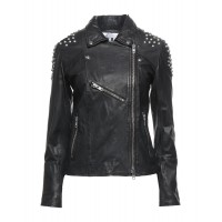 Women Leather Jackets on clearance good quality - Biker jackets 100% Soft Leather 9MOVO1895