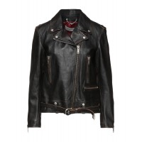 Women Leather Jackets On Line most comfortable - Biker jackets 98% Ovine leather, 2% Bovine leather FWI1V1637