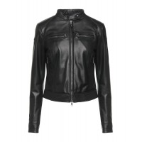 Women Leather Jackets online shopping Business Casual - Leather jackets 100% Soft Leather T33D72308