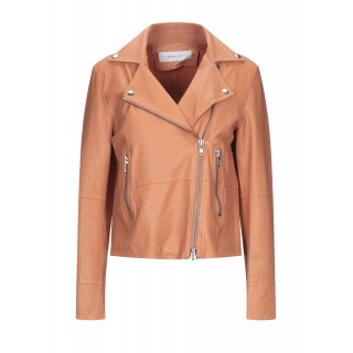Women Leather Jackets Selling Well Business Casual - Biker jackets 100% Soft Leather ICJ2N4799
